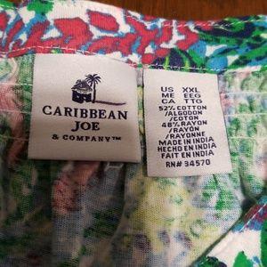 53149bfc50f Caribbean Joe Dresses - Caribbean Joe plus size aqua wave dress K223 7 618